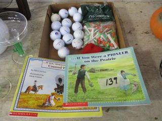 Golf Balls   Books