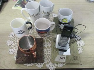 Cordless Phone   Cups
