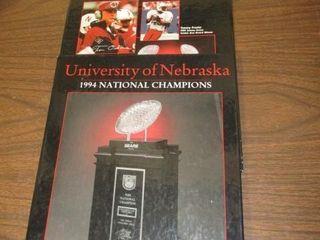 UNl 1994 National Championship Book