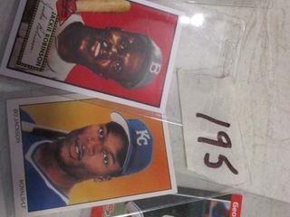 Baseball Cards  Babe Ruth  Jackie Robinson