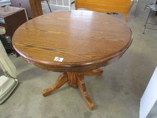 Oak Diningroom Table