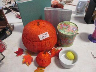 Pumpkin Basket   Misc