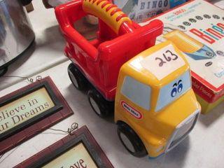 little Tike Toy Truck