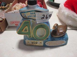 Ducks Umlimited 40 liquor Decanter Sealed