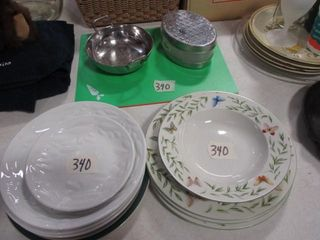 Metal Bowl  Dishes    Misc