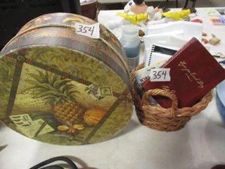 Hat Box   Basket