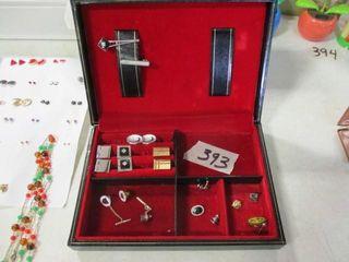 Jewelry Box   Cuff links