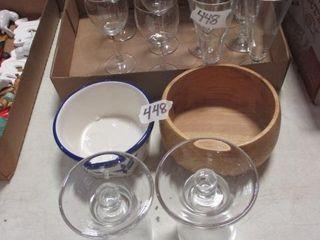 Wine Glasses   Misc
