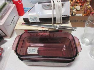 Regal Electric Knife   Casseroles