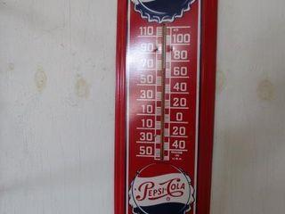 Pepsi Cola Thermometer