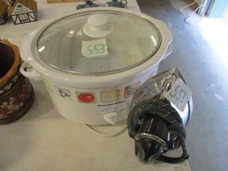 Crock Pot   Iron