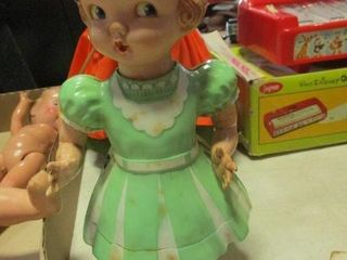 Plastic Wind Up Doll