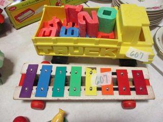 Mattel Truck w Numbers