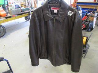 Size l Mens leather Coat