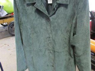Cherokee Suede Size Xl Womans Coat