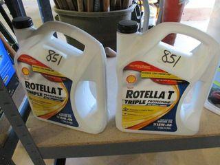 2   Gallons Rotella T 15W 4 Oil