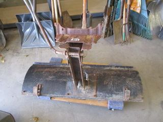 Garden Tractor Push Blade