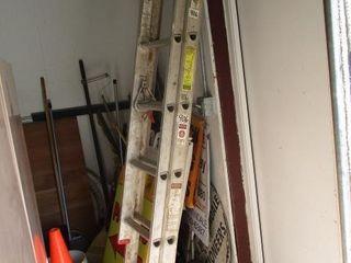 Werner 16  Aluminum Ext  ladder