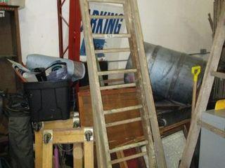 22  Wood Extension ladder