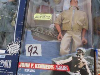 GI Joe John F  Kennedy Doll