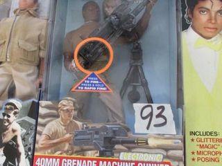 GI Joe 40MM Grenade Machine Gunner Doll