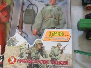 GI Joe Navajo Code Talker Doll