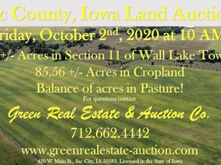 143.5 +/- acres in Section 11 of Wall Lake TWP