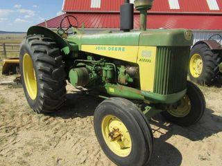 1959 John Deere Model 830 Tractor