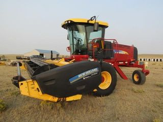 2013 New Holland H8040 Hay Windrower/Swather