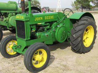 1937 John Deere Model AR Tractor