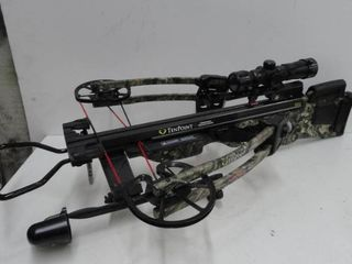 Crossbow Ten Point/Carbon Nitro RDX/165lb Draw Weight/Quiver Includes Padded Case