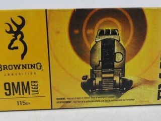 Browning 9mm Luger 115gr