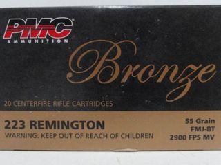 Remington 223 Bronze 55 Grain