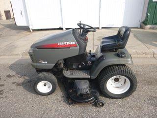 Craftsman GT5000 Riding Lawn Mower
