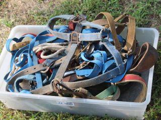 lot Full of Horse Tack