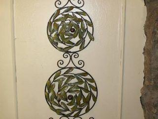 Cool 47  Metal Wall Topiary Decor