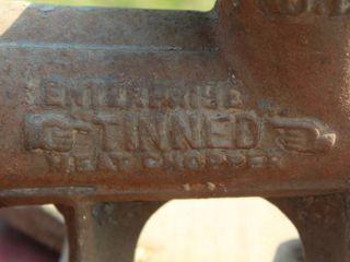 Antique Enterprise Tinned Meat Chopper No 12