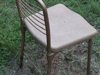 Cool Vintage Cosco Fashionfold Convertible Metal Chair
