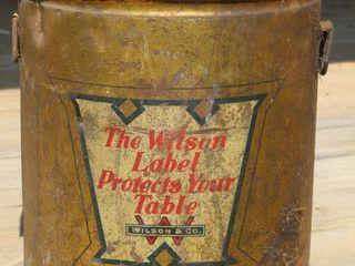 Antique Wilson Tin Tub Wilson & Co.