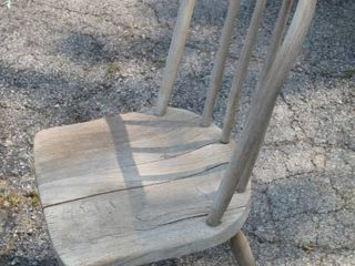 Vintage Antique Spindle Chair