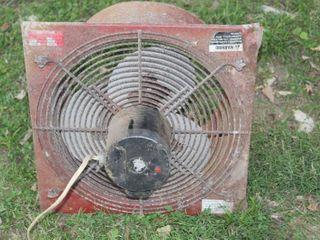 Vintage Air Compressor Fan Unit Gould Century Motor Co