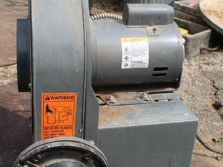Industrial Dayton Belt Drive Fan and Blower Motor Model 4C108