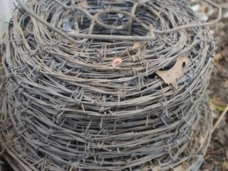 1  Sheffield Roll of High Strength Barbed Wire