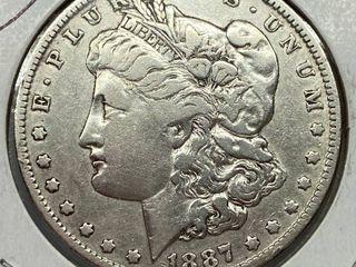 1887 O  1 Morgan Silver Dollar
