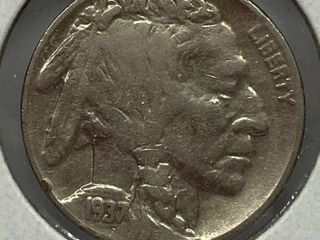 1937 Buffalo Nickel
