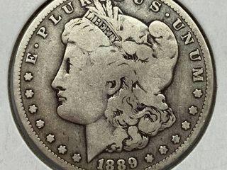 1889 O  1 Morgan Silver Dollar