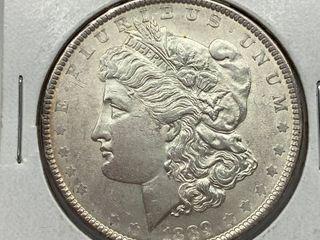 1889  1 Morgan Silver Dollar