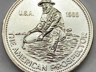 American Prospector One OUNCE  999 Fine SIlVER