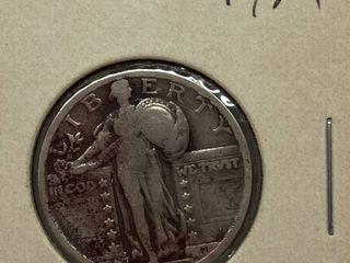 1927 Standing liberty Silver Quarter Dollar