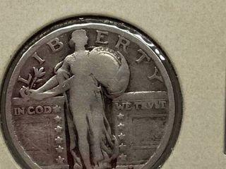 1928 Standing liberty Silver Quarter Dollar